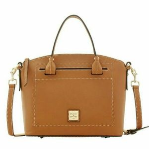 Dooney and Bourke Beacon domed satchel.